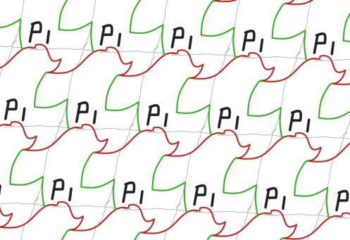 Symmetry group p1 explained