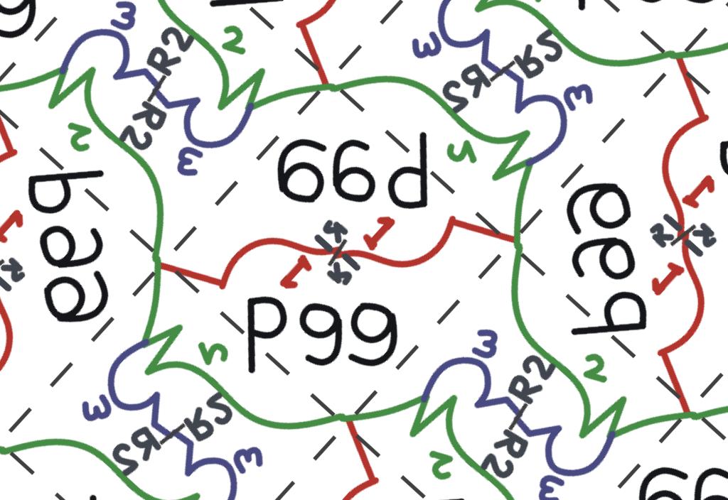 Symmetry Group Pgg explained