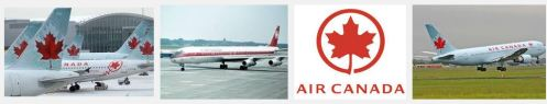 Air Canada branded colours