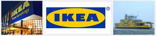 Ikea branded colours