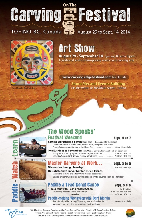 2014-Carving-on-the-Edge-Festival- starts this Friday!