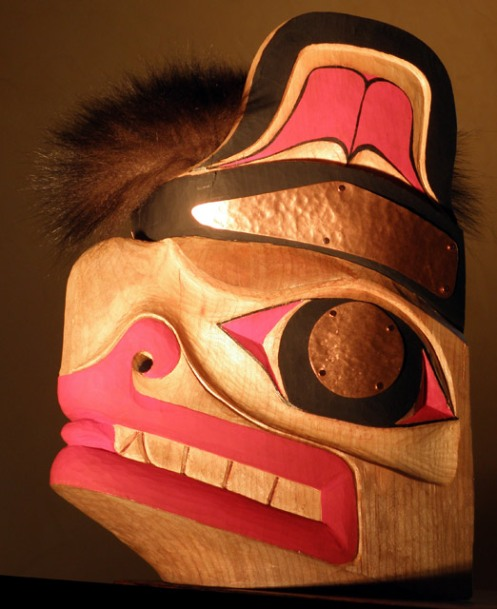 Bear Mask, Mulji Family, ©2009 Champagne