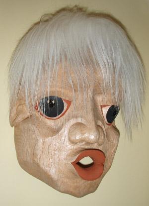 Warhol Dzonukwa 4, ©2010 Champagne