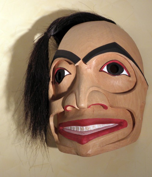 Gagiid Mask, Homage to Davidson, 2004 Champagne