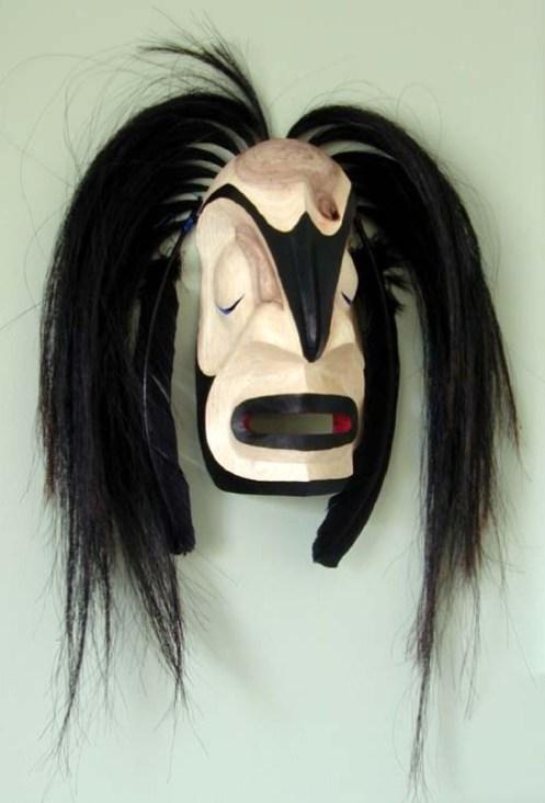 Raven Man Transforming 1, ©2003 Champagne