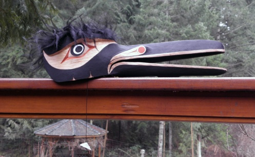 Second Raven Mask, ©2011 Champagne