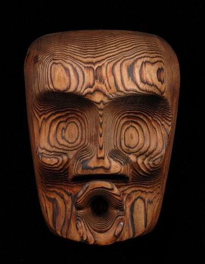 Ellen Neel's Dzonukwa mask