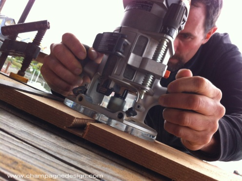 Christopher Roy, le photographe participating in Joe Martin's bentwood box workshop