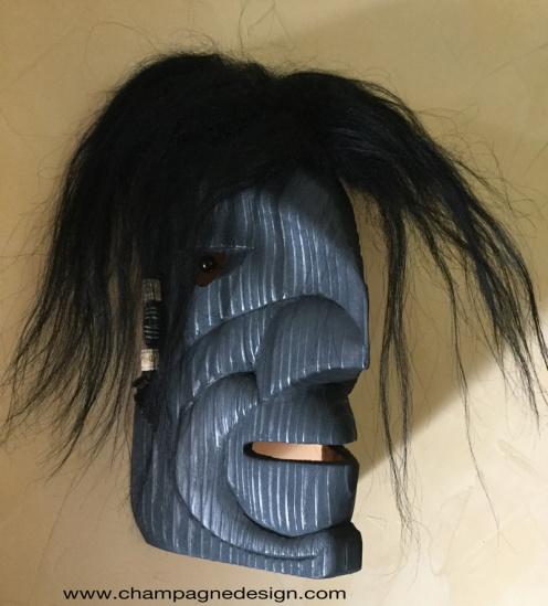 Raven Boy mask