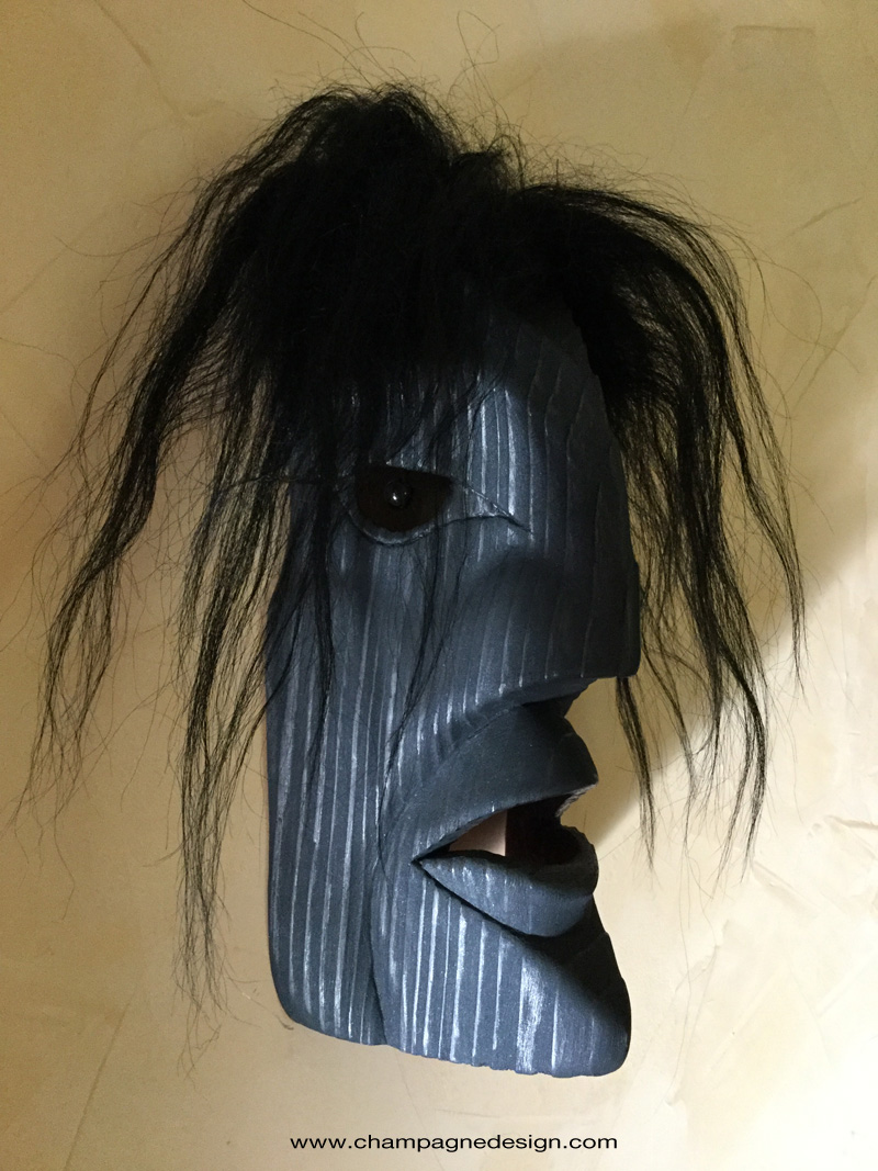 Raven Girl mask