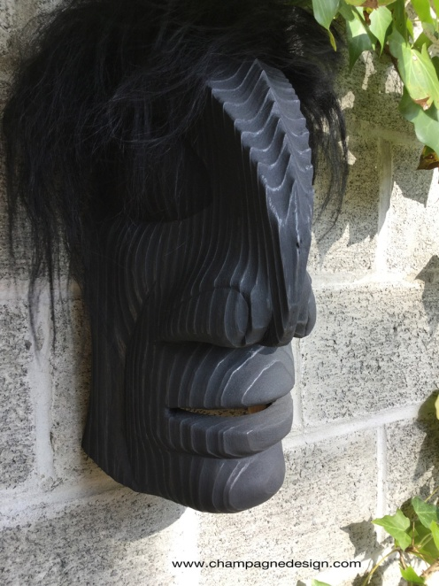 Burnished Raven Man mask