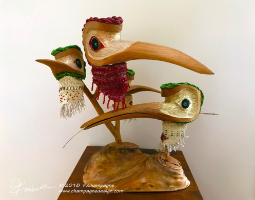 Anna's Hummingbird Masks